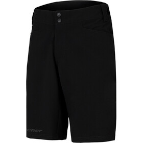 Ziener Niw X-Function Shorts Herrer, black/bitter lemon